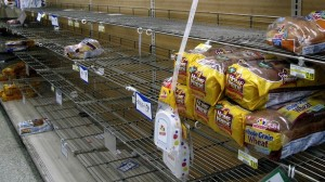 Why is it always the bread that's first to go? - 12 tips for preparing for an ice storm