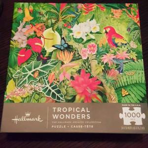 Hallmark Puzzle - Tropical Wonders