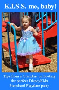 DisneyKids Preschool Playdate Party - Just Peachy Keen with the Peachy Queen