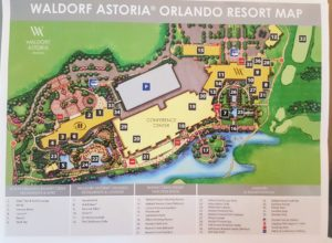 Waldorf Astoria Orlando grounds map - Just Peachy Keen with the Peachy Queen www.stayinpeachy.com
