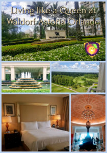 Living like a Queen at Waldorf Astoria Orlando - Just Peachy Keen www.stayinpeachy.com