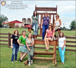 Southern Belle Bloggers - #ExploreGeorgiaFarms #GAAgritourism - Just Peachy Keen with the Peachy Queen www.stayinpeachy.com