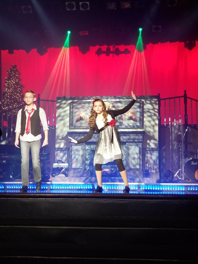 The Hughes Brothers Christmas Show - Christmas in the Ozarks: Stage Shows for Everyone - Just Peachy Keen #BloggingBranson #OzarkMountainChristmas